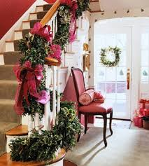 Stairs Decorations by 100 Awesome Christmas Stairs Decoration Ideas Digsdigs