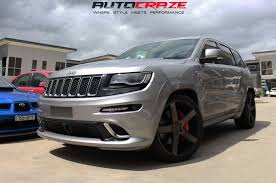 lowered jeep grand cherokee jeep grand cherokee srt wheels niche milan rims autocraze