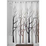 Amazon Splash Home Tree Mocha Eva Shower Curtain