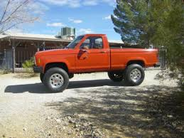 ford ranger 4x4 5 speed for sale sell used 1985 ford ranger 4x4 5 speed v 6 less than 82 000