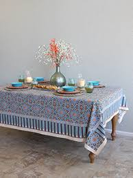 Coffee Table Linens by Globally Inspired Table Linen Indian French Moroccan Batik