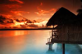 overwater bungalow villas of the south seas cook islands