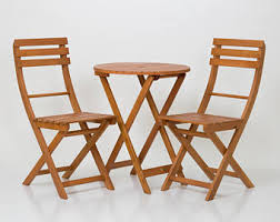 Folding Bistro Table And 2 Chairs Bistro Set Etsy