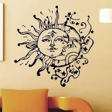 vinyl wall sticker decals sun crescent from amazon home decor