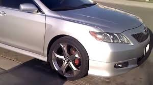 toyota camry limo camry with venza rims youtube