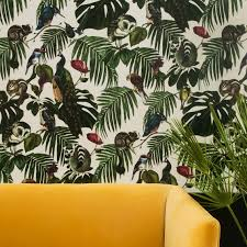 Trompe L Oeil Wallpaper by Amazonia Light Wallpaper By Witch And Watchman 10 M Roll