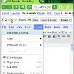 mla outline template google docs inside mla template google docs