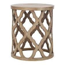Quatrefoil Console Table Gray Wooden Console Table Console Tables And Consoles
