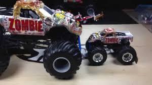 buy wheels monster jam trucks wheels new 2014 monster jam 1 24 scale zombie youtube