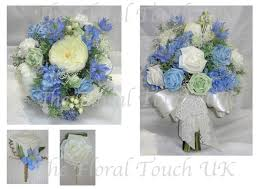 103 Best Ivory U0026 Gray by Silk Wedding Bouquets The Floral Touch Uk South Yorkshire