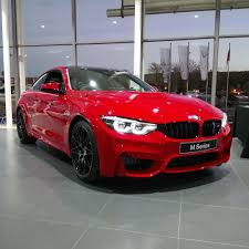 first ferrari the first ferrari red bmw m4 has arrived in south africa at