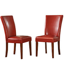 modern red leather dining chairs red dining chair talia red dining chair buy now at habitat uk