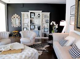Popular White  Gallery Of Living Room Ideas Black And White Plans - Black and white living room decor