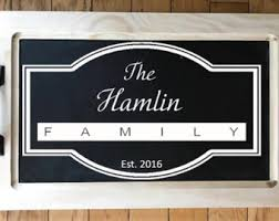 personalized serving trays platters serving tray wood serving tray monogrammed serving tray