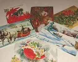 vintage cards etsy