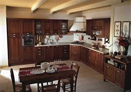 astounding country kitchen decor sets with brown paint colors for