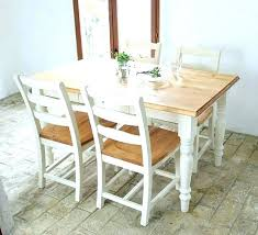 dining room table white white table with wood top sayhellotome co