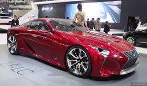 lexus south korea lexus lf lc coupe green lighted for production