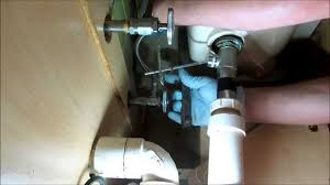 Plumbingbad Water Leak Under Bathroom Sink YouTube - Bathroom sink plumbing