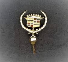 nos new cadillac ornament emblem trim badge assy fleetwood