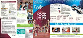Map Of Disney World Parks First Look 2015 Epcot Food And Wine Festival Park Maps
