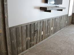 faux barn wood paneling before and after wall decor ideas of
