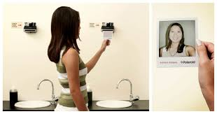 Bathroom Mirror Shots by See Yourself Instantly The Polaroid Picture Mirror Design