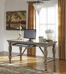 signature design by ashley tanshire home office desk desks