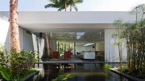 homes with interior courtyards plant filled courtyards create enclaves in home by