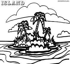 printable pictures island coloring pages 50 for coloring site with
