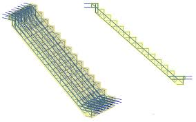 reinforced concrete stair 95 tekla user assistance