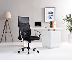 amazon com hodedah high back mesh office chair kitchen