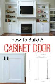 Cabinet Door Material How To Build A Cabinet Door Decor And The