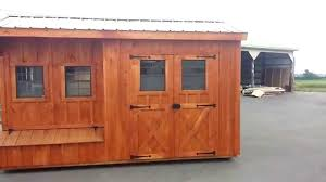 Shed Style 8x14 Quaker Style Coop Shed Also Known As The Sarah Youtube