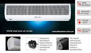 Air Curtains For Overhead Doors Residential Air Curtain On Sales Quality Residential Air Curtain
