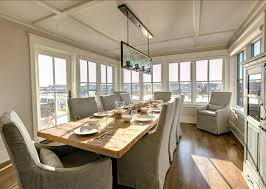 Coastal Dining Room Concept Awesome Coastal Dining Room Concept House With Transitional