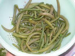 cuisiner des haricots verts frais haricots verts en sauce blanche