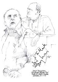 drawing david troughton in goodnight mister tom chicanepictures