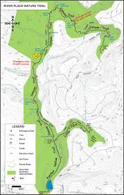 The Domain Austin Map by River Place Nature Trails Austin Texas