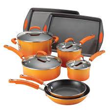 cookware black friday deals rachael ray 17 piece cookware set walmart com