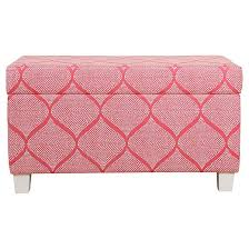 Childrens Storage Ottoman Kids U0027 Storage Bench Strawberry Homepop Target