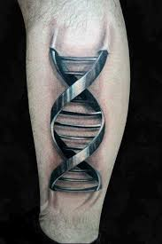 graphic metal dna 3d tattoo best tattoo ideas gallery