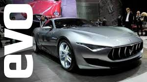 maserati alfieri red maserati alfieri concept at geneva 2014 evo motor shows youtube