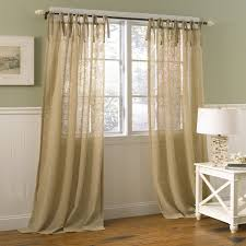 Burlap Ruffle Curtain Amazon Com Laura Ashley Danbury Panel Pr Or Tie Top Panels 40
