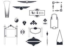 deco sign vectors and ornament vector pack free