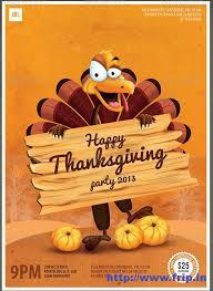 6 best images of thanksgiving dinner flyer template thanksgiving