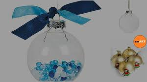 clear christmas ornaments christmas 2016 youtube
