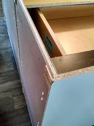 how do you attach island cabinets to the floor attaching thin backing to kitchen island doityourself