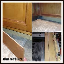 how is a cabinet toe kick cabinet drawers toe kick drawers ryobi nation projects