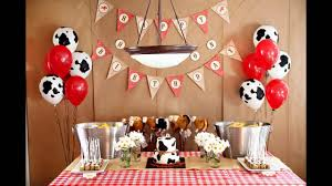western themed table centerpieces fascinating cowboy birthday party decorations ideas youtube